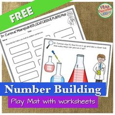 PDL Number Building Play Mats FREE Have fun exploring math in this science lab. Compose and decompose numbers! Great for letting students see how creative math can be.