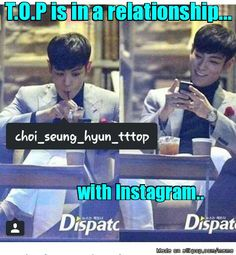 BigBang T.O.P ..Dispatch.. breaking news!.. x)