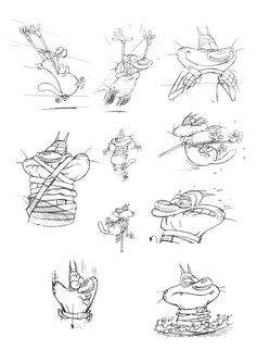 Oggy Sketch