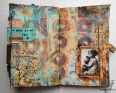 Mixed Media Place: What are you feeling? {vol.6} - France Papillon
