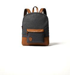For Children: Boys Rucksack Christmas Gift Guide, Fashion Backpack, Children, Kids, Flannel, Backpacks, London, Leather, Detail