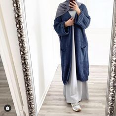 Modest Fashion Hijab, Casual Hijab Outfit, Modest Outfits, Fashion Outfits, Hijab Chic, Work Outfits, Moslem Fashion, Mode Abaya, Hijab Fashionista