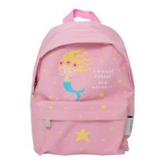 Mini rugzak Zeemeermin roze A Little Lovely Company Little Backpacks, Cute Backpacks, Girl Backpacks, Little Girl Backpack, Mini Backpack, Mermaid School, Mini Mochila, A Little Lovely Company, Cute Little Girls