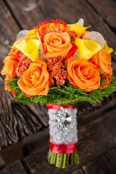 Yellow and orange || Really Awesome Weddings » Club Balai Isabel, Batangas Lakeside Wedding / Mike and Mizielle
