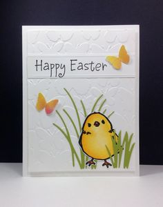 IC538 Easter Chick by beesmom - Cards and Paper Crafts at Splitcoaststampers