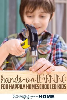 What is Hands-On Homeschooling? It's Touching + Doing = Learning. If your child struggles, is sad, angry, bored, try making your classroom one that is hands-on.