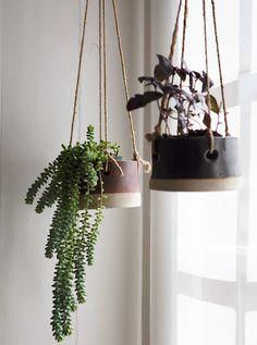 antikmodern: TW Pottery hanging pot