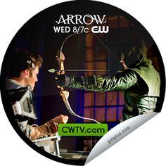 Steffie Doll's Arrow: Unfinished Business on CWTV Sticker   GetGlue