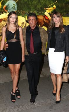 Sylvester Stallone's 16-Year-Old Model Daughter Sistine Is Stunning! Check Out Her Good Looks  Sylvester Stallone, Jennifer Flavin, Sistine