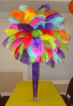Wholesale beautiful 14 Quality Ostrich Feather Color Can Choose Centerpiece Rentals, Non Floral Centerpieces, Ostrich Feather Centerpieces, Mardi Gras Centerpieces, Masquerade Centerpieces, Balloon Centerpieces, Wedding Centerpieces, Floral Arrangements, Wedding Decorations