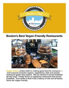 "CBS Boston put Veggie Galaxy on their short list of ""Boston's Best Vegan-Friendly Restaurants"" in 2014. (http://boston.cbslocal.com/top-lists/bostons-best-vegan-friendly-restaurants-2/) www.veggiegalaxy.com"
