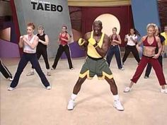 Billy Blanks Tae Bo - Cardio [2004] - YouTube