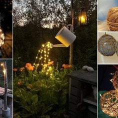Light Up Your Garden with These DIY Lighting Projects fi