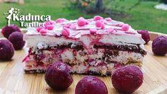 Vişneli Bisküvili Pasta Tarifi nasıl yapılır? Vişneli Bisküvili Pasta Tarifi'nin malzemeleri, resimli anlatımı ve yapılışı için tıklayın. Yazar: Çiğdem Mutfakta