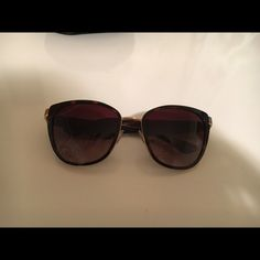 Never worn Dolce and Gabbana sunglasses Gorgeous and never worn Dolce and Gabbana sunglasses. Tortoise shell. Cat eye lenses with logo on sides. Comes with case. Dolce & Gabbana Accessories Sunglasses