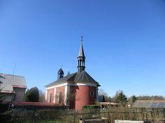 Kaple Panny Marie Karmelské - Vlčí hora - severní Čechy