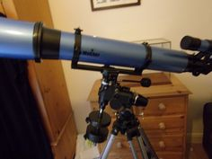 Immaculate #skywatcher #120mm #refractor telescope on eq3-2 mount,  View more on the LINK: http://www.zeppy.io/product/gb/2/252534661552/