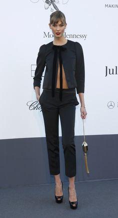 Karlie Kloss at Cannes amFAR gala