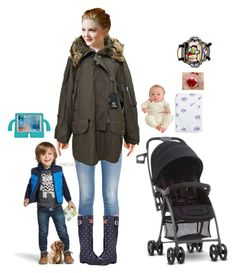 """""""Young Family"""" by steviepizza ❤ liked on Polyvore featuring Nümph, STELLA McCARTNEY, Old Navy, Joules, McQ by Alexander McQueen, Auggie, Aden + Anais, Joovy and Skip Hop"""