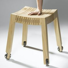 bending timber. clever engineering