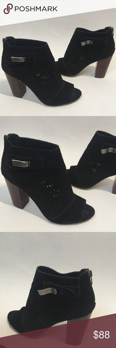 DV By Dolce Vita Suede Perforated Ankle Boots 7.5 Worn once DV by Dolce Vita Shoes Ankle Boots & Booties