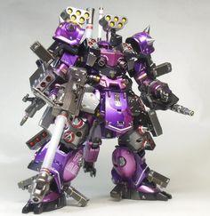 "Custom Build: HG 1/144 Super Custom Zaku F2000 ""Amazing"" - Gundam Kits Collection News and Reviews"