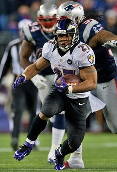 Ray Rice against the Patriots  (relevant this week)