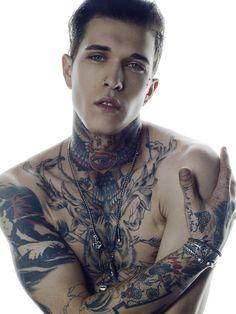 Guy Neck Tattoo Tumblr
