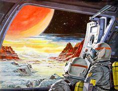 Retro futurismo Sci-Fi   Science Fiction vintage   Ilustraciones retro futuristas años 50s y 60s