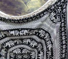 Psychedelic Indian Mandala Tapestry Wall Hanging Bedding Bedspread Ethnic Art #Unbranded #ArtDecoStyle #BedspreadWallHangingHomeDecor