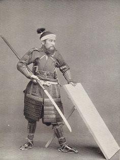 Auténticos samuráis japoneses del siglo XIX