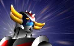 Grandizer, why can't cartoons now a days be as cool as you?