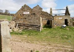 Derelict Farmstead, Oakley walls,