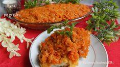 Kolorowa kuchnia Elki: Ryba po grecku
