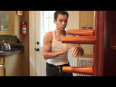 Wooden Dummy Form Section 1 and 2 - YouTube