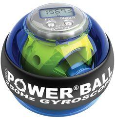 Exercise & Fitness: Powerball Blue Pro 250 Hz - Blue Exercise Ball Hand Exerciser