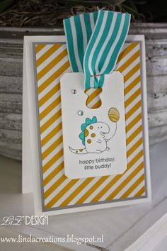 Idea for Little Buddy Birthday stamp set by Stampin' Up!