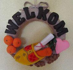 Sinterklaas wreath