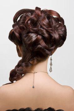 Hair Back View #UpDos Dream Catchers Salon LIKE us on www.facebook.com/DreamCatchersSalon and visit us at www.ellahairdesign.com #hairstyle #wedding