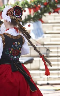 Polish folk costume