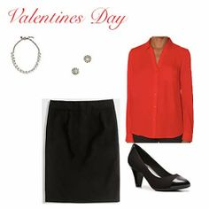 Purple and Pearls : Valentines Day OOTD