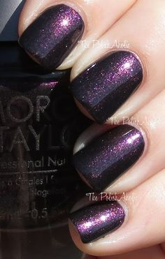 Truth or Dare, Morgan Taylor polish...this is the color I want to paint my Jeep.