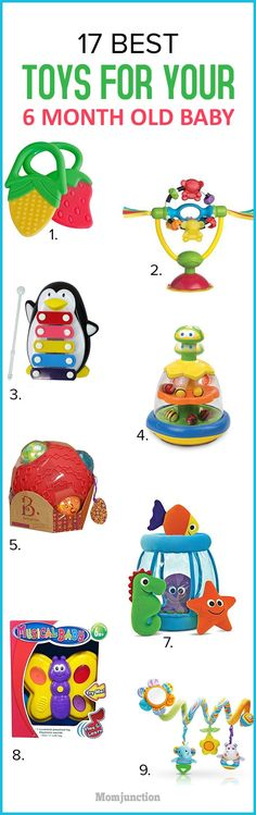 Just when you thought all the tiring 'pregnancy stuff' was over, your baby is growing fast and loves to play.Here we list out 7 best toys for 6 month old.