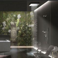 rain shower Bad Inspiration, Bathroom Inspiration, Bathroom Ideas, Shower Ideas, Bathroom Designs, Bathroom Layout, Bathroom Inspo, Bathroom Colors, Bathroom Remodeling
