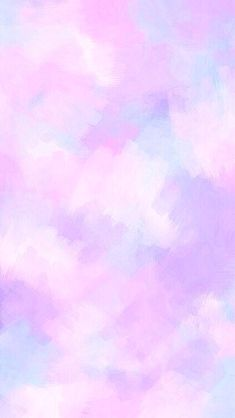 Purple pastel watercolour iPhone wallpaper