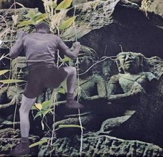 "Saatchi Art Artist Deborah Stevenson; Collage, "" Effort "" #art"