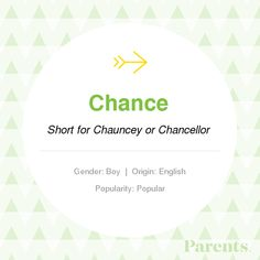 With thousands of names in our handbook, choosing the right on just got easier! Explore the meaning, origin, variations, and popularity of the name Chance. Pretty Girls Names, Girls Names Vintage, Baby Girl Names, Boy Names, Baby Boy, Desk Name Tags, Green Name, Gender Neutral Names, Personalised Christmas Decorations
