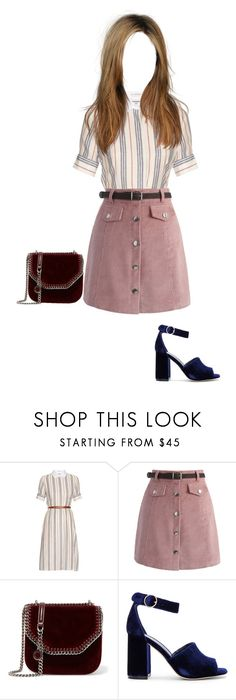 """""""Preppy"""" by lily-doyle03 ❤ liked on Polyvore featuring Altuzarra, Chicwish, STELLA McCARTNEY, Joie and pretty"""