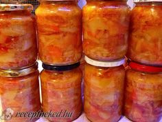 Pillar Candles, Jar, Canning, Recipes, Food, Gastronomia, Red Peppers, Salads, Recipies
