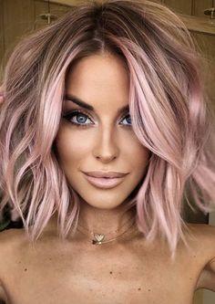 Hair Color And Cut, Cool Hair Color, Hair Colors, Love Hair, Great Hair, Medium Hair Styles, Short Hair Styles, Blonde Hair Looks, Hair Affair